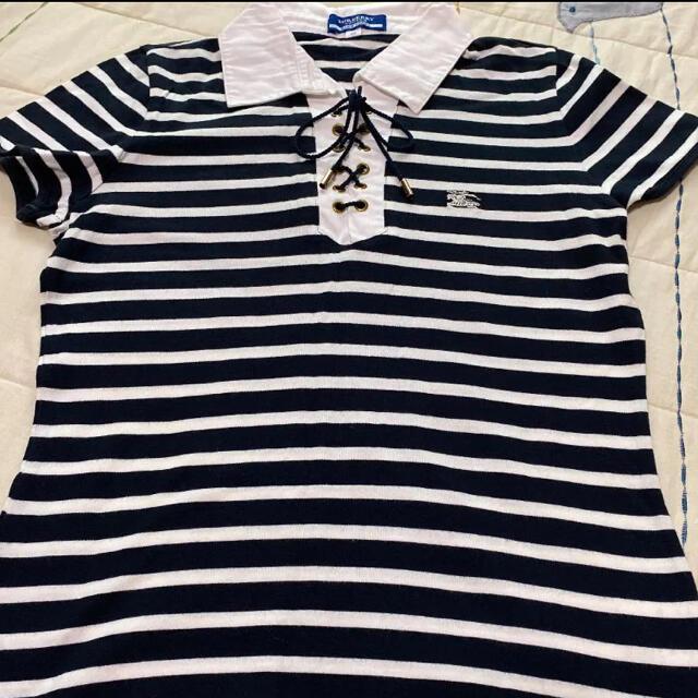 BURBERRY BLUE LABEL(バーバリーブルーレーベル)のバーバリーポロシャツ レディースのトップス(ポロシャツ)の商品写真