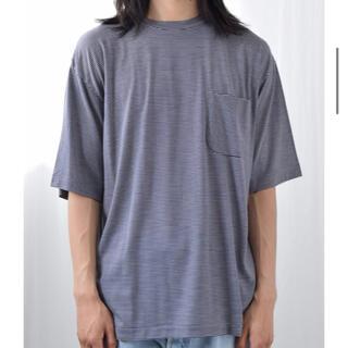 COMOLI - 新品 COMOLI 21ss ウール天竺半袖クルー Tシャツ コモリ シャツ