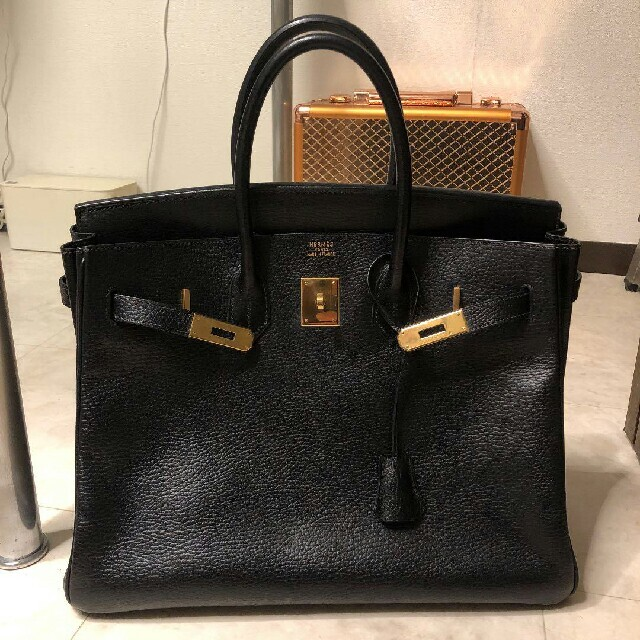 Hermes(エルメス)の美品!Hermès エルメス バーキン30 ブラック レディースのバッグ(ハンドバッグ)の商品写真