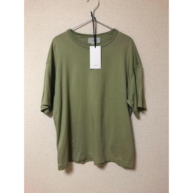 YOKE YK20SS0115CS yellow green メンズのトップス(Tシャツ/カットソー(半袖/袖なし))の商品写真