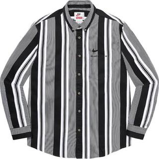 Supreme - 最安 Supreme Nike Shirt シャツ L tee north