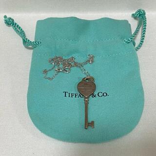 Tiffany & Co. - Tiffany ティファニー キーペンダント ハート ネックレス