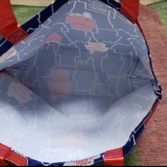 SNOOPY(スヌーピー)のスヌーピー エコバッグ レディースのバッグ(エコバッグ)の商品写真