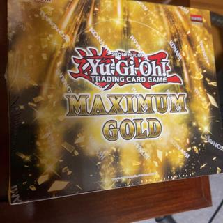 ユウギオウ(遊戯王)の新品未開封 遊戯王 EU版 マキシマムゴールド MAXIMUM GOLD box(Box/デッキ/パック)