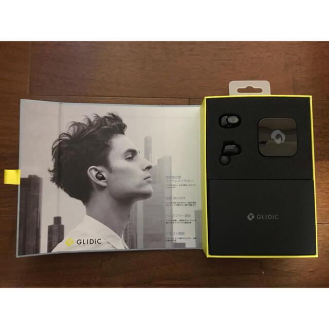 GLIDiC ワイヤレスイヤホン TW-5000ブラック スマホ/家電/カメラのオーディオ機器(ヘッドフォン/イヤフォン)の商品写真