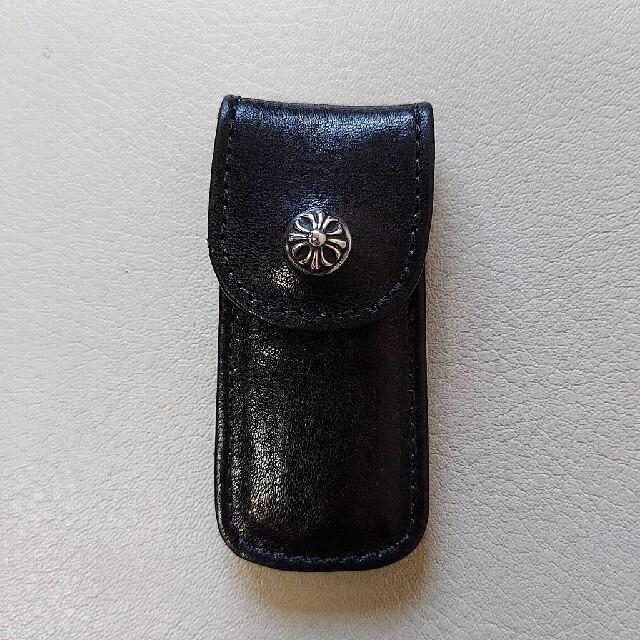 Chrome Hearts(クロムハーツ)のCHROME HEARTS 正規品 本物 つま楊枝入れ ブラック ノベルティ メンズのファッション小物(その他)の商品写真
