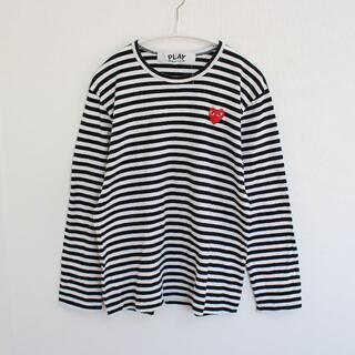 COMME des GARCONS - コムデギャルソン PLAY COMME des GARCONS定番メンズTシャツ