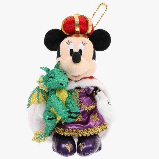 Disney(ディズニー)のディズニーランド 38周年 ミニーマウス ぬいぐるみバッジ ぬいぱ エンタメ/ホビーのおもちゃ/ぬいぐるみ(キャラクターグッズ)の商品写真
