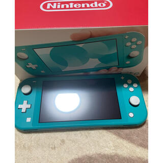 Nintendo Switch - Switch light ターコイズ 充電器付 即買い可能