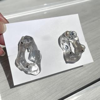 Ameri VINTAGE - crystal  pearl