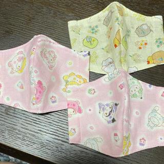 女の子 幼児 インナーマスク 3枚セット