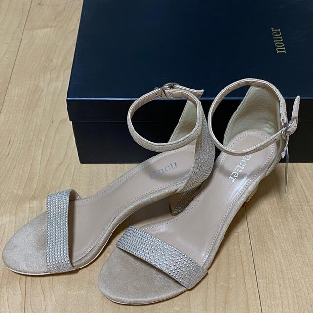 SCOT CLUB(スコットクラブ)のYAMADAYA  SCOTCLUB nouer オープントゥパンプス レディースの靴/シューズ(ハイヒール/パンプス)の商品写真