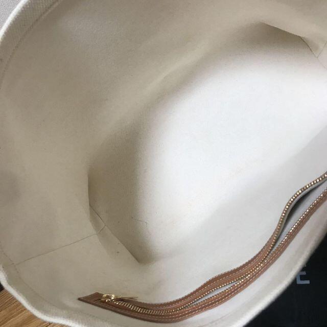 celine(セリーヌ)の美品 セリーヌ CELINE ホリゾンタル カバ キャンバス&カーフスキン レディースのバッグ(トートバッグ)の商品写真