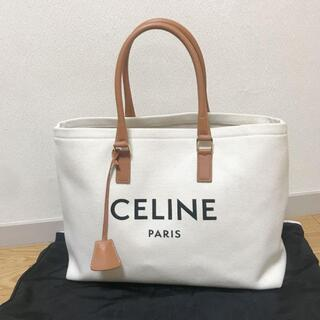 celine - 美品 セリーヌ CELINE ホリゾンタル カバ キャンバス&カーフスキン