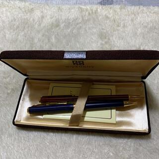 ジバンシィ(GIVENCHY)の中古 GIVENCHY ボールペン2本セット 箱付き(ペン/マーカー)