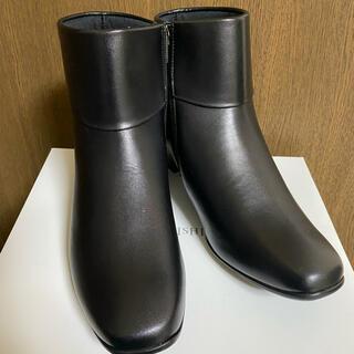アーチフィッターの本革ブーツ。定価税抜き27000