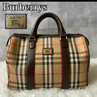 BURBERRY - バーバリーズ チェック ボストンバッグ