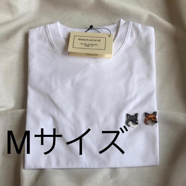 MAISON KITSUNE'(メゾンキツネ)のMAISON KITSUNE' メゾンキツネ Tシャツ M メンズのトップス(Tシャツ/カットソー(半袖/袖なし))の商品写真