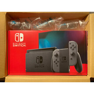 Nintendo Switch - [新品] Nintendo Switch Joy-Con(L)/(R) グレー
