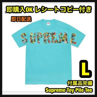 Supreme - L Supreme Toy Pile Tee トイパイル Tシャツ