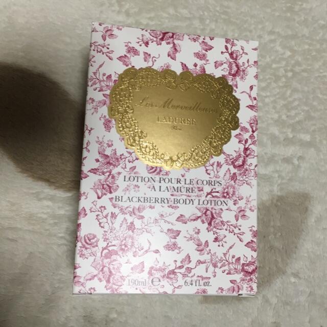 Les Merveilleuses LADUREE(レメルヴェイユーズラデュレ)のレ・メルヴェイユーズ ラデュレ ブラックベリー ボディ ローション コスメ/美容のボディケア(ボディローション/ミルク)の商品写真