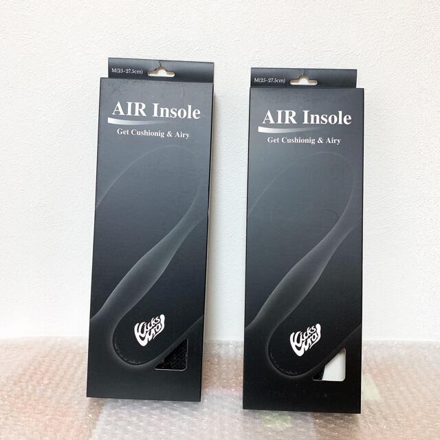 NIKE(ナイキ)の即購入OK KicksWrap AIR Insole エアインソール 2個 メンズの靴/シューズ(スニーカー)の商品写真