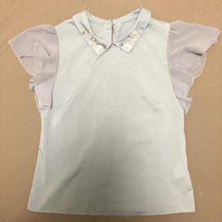 ウィルセレクション(WILLSELECTION)のウィルセレクション ブラウス ビジュー(シャツ/ブラウス(半袖/袖なし))