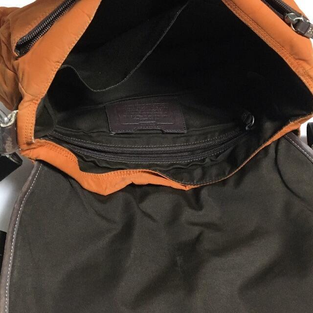 COACH(コーチ)のCOACH コーチ メッセンジャー ナイロン×レザー ショルダーバッグ メンズのバッグ(メッセンジャーバッグ)の商品写真