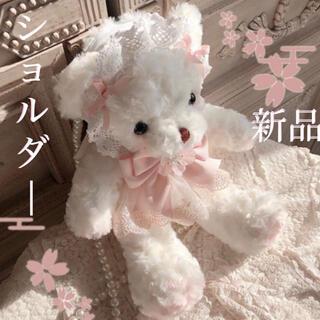 ベイビーザスターズシャインブライト(BABY,THE STARS SHINE BRIGHT)の新品 。.ʚ くまちゃん♡ショルダー ɞ .。桜ぴんく(ショルダーバッグ)