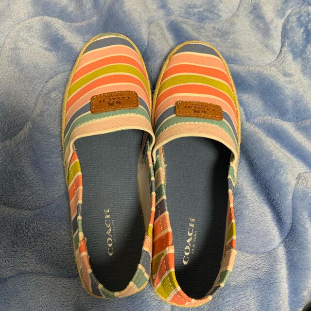 COACH(コーチ)のcoach  コーチ 靴 スリッポン レディース レディースの靴/シューズ(スリッポン/モカシン)の商品写真