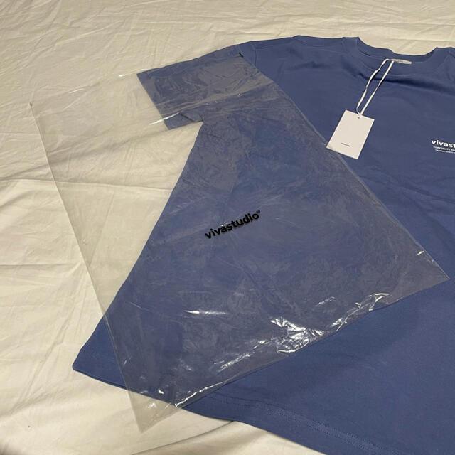 人気 vivastudio LOGO 半袖 Tシャツ Mサイズ メンズのトップス(Tシャツ/カットソー(半袖/袖なし))の商品写真