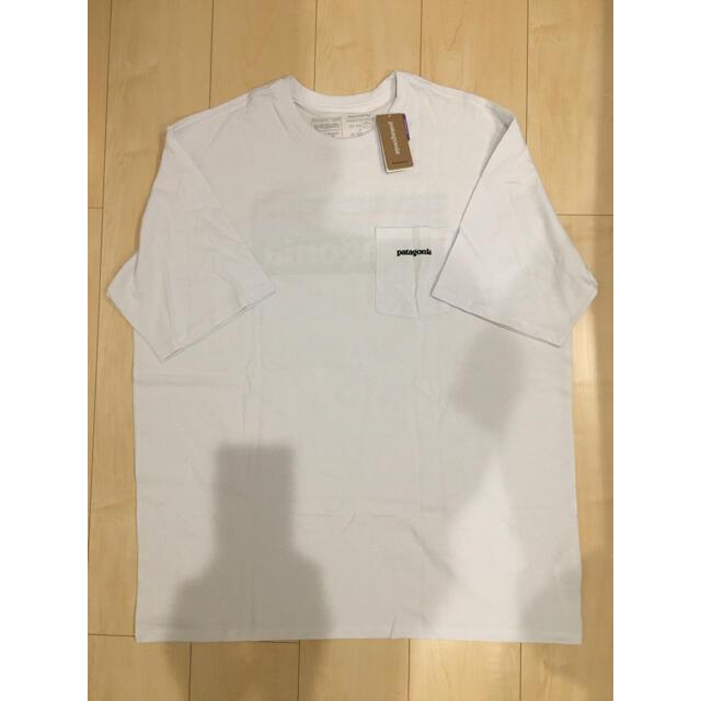 patagonia(パタゴニア)のSALE❗️新品 パタゴニア ポケット付きTシャツ メンズのトップス(Tシャツ/カットソー(半袖/袖なし))の商品写真