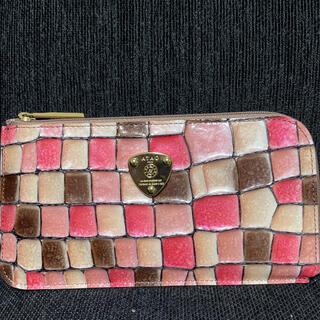 ATAO - アタオ スリモ ヴィトロ チェリー ピンク 桜 スマート財布