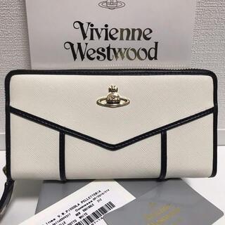 Vivienne Westwood -  ヴィヴィアン Vivienne Westwood 長財布 レザー新品 ホワイト