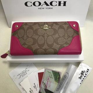コーチ(COACH)の新品未使用 COACH コーチ 長財布 F53780(その他)