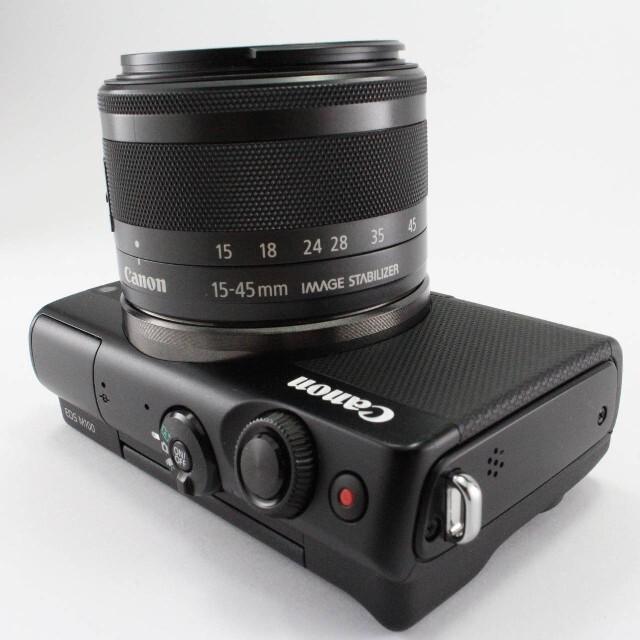 Canon(キヤノン)の★Canon ★ミラーレス一眼カメラ EOS M100 レンズキット(ブラック) スマホ/家電/カメラのカメラ(ミラーレス一眼)の商品写真
