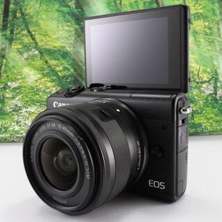 Canon - ★Canon ★ミラーレス一眼カメラ EOS M100 レンズキット(ブラック)