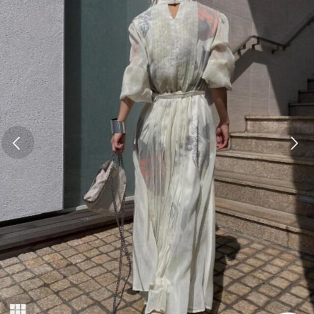Ameri VINTAGE(アメリヴィンテージ)のAmeri VINTAGE  [ELLA VEIL DRERSS] 美品💖 レディースのワンピース(ロングワンピース/マキシワンピース)の商品写真