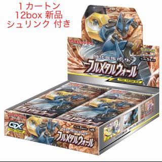 ポケモン(ポケモン)のポケモンカード フルメタルウォール 12BOX (1カートン)(Box/デッキ/パック)