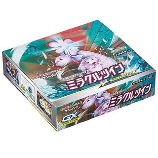 ポケモン(ポケモン)のポケモンカード ミラクルツイン 12BOX (1カートン分)(Box/デッキ/パック)