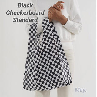 DEUXIEME CLASSE - 【BAGGU】ブラック チェッカーボード スタンダード バグー