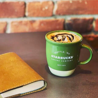 Starbucks Coffee - スターバックス  マグバイカラー グリーン 355ml