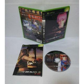 エックスボックス(Xbox)の≪Xbox≫DEAD OR ALIVE 3(家庭用ゲームソフト)