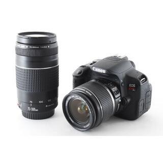 Canon - ★特価★キヤノン CANON EOS Kiss X6i Wレンズセット