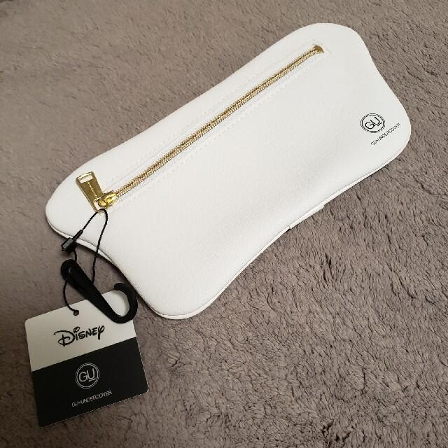 GU(ジーユー)の最安値 定価以下 タグ付き 新品 gu UNDERCOVER ダンボ ポーチ レディースのファッション小物(ポーチ)の商品写真