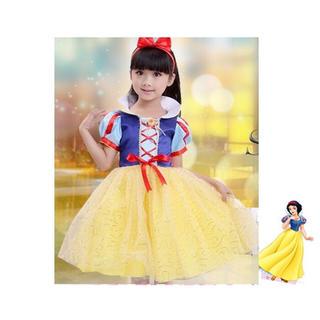 ☆新品☆白雪姫 子どもドレス 衣装 ディズニー ハロウィン(ドレス/フォーマル)