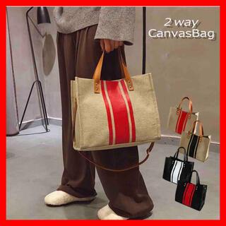 バッグ キャンバスバッグ ハンドバッグ ショルダーバッグ 2wayバッグ
