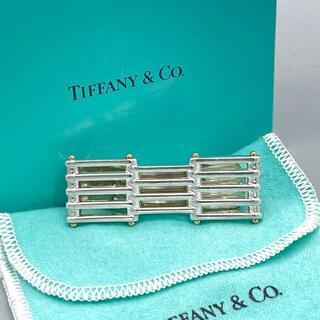 ティファニー(Tiffany & Co.)の極希少 ティファニー コンビ ゲート マネークリップ vv58(マネークリップ)