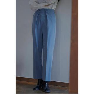 Ameri VINTAGE - 新品◆Ameri LAPEL TAPERED PANTS ブルー M
