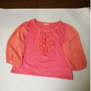 アビィ(avie)の七分袖ティーシャツ(Tシャツ(長袖/七分))